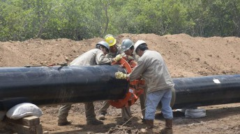 Cristina y De Vido dejaron inaugurada la obra del gasoducto troncal del noroeste