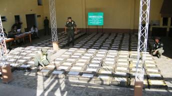 Gendarmería Nacional secuestró más de 84 kilos de marihuana