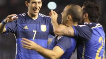 Las fotos del triunfo de la selección ante El Salvador