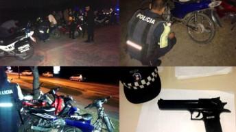32 motocicletas secuestradas en operativo conjunto
