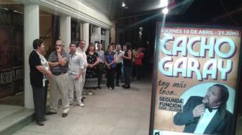 El humor de Cacho Garay copó el Guido