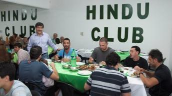 Hindú festejó su 82° aniversario