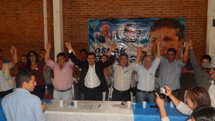 Mongeló presentó precandidatos a diputados y ediles en Sáenz Peña