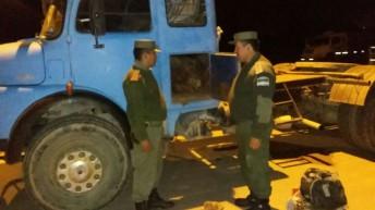 Gendarmería secuestró 215 piezas de meteoritos con un peso de 1.500 kilos