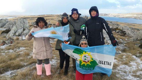 Comitiva chaqueña se encuentra en el tercer viaje humanitario a las Islas Malvinas