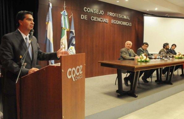 Convenio con el Consejo de Ciencias Económicas para la construcción de 200 viviendas