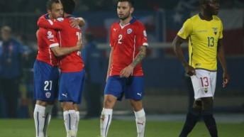 Copa América: Chile le ganó a Ecuador en la apertura de la Copa