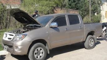 El COM dio con una camioneta robada hace dos meses