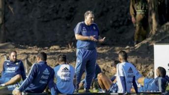 Martino tiene al grupo completo tras la llegada de Messi y Mascherano