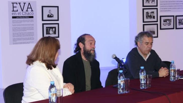 Nieto presentó el libro Eva en el Chaco, en la tercera jornada de la 2º Feria Itinerante del Libro