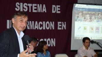 Soto presentó el portal educativo en la Región Educativa 3