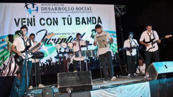 """""""Vení con tu Banda"""", otro domingo de música en el Parque de la Democracia"""