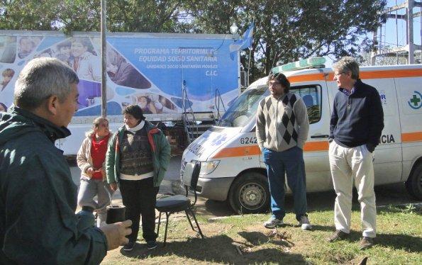 Emergencia hídrica: Sager supervisó operativo sanitario en Antequera y Vilelas