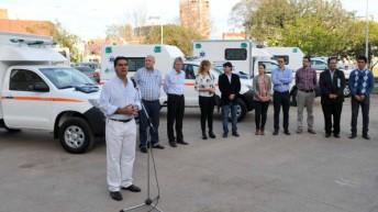 """Nueve ambulancias para el interior: """"nunca un Gobierno invirtió tanto en equipamiento sanitario"""""""