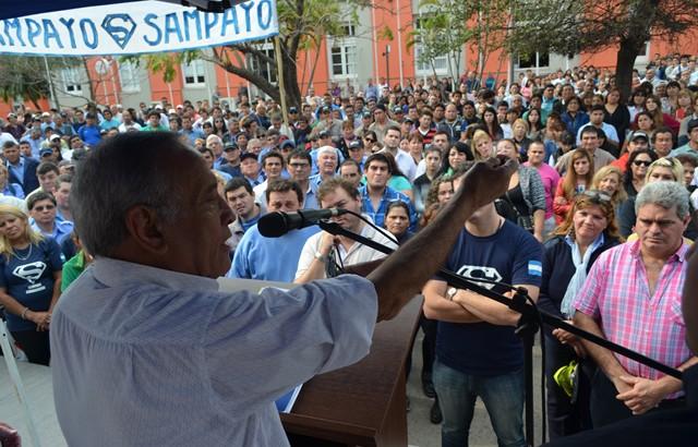 Sampayo: la jueza rechazó el pedido del fiscal de detener al sindicalista