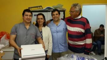 El hospital de Las Palmas recibió un nuevo ecógrafo  portátil
