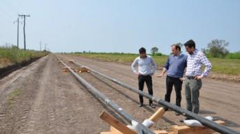 GNEA: Bolatti verificó las primeras soldaduras de caño para ramales de aproximación