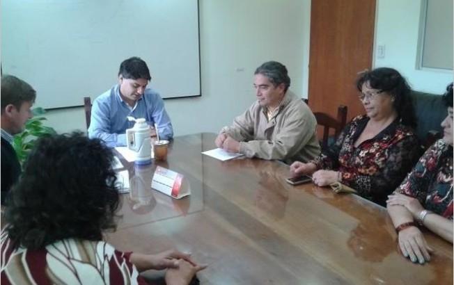 La Unión de Trabajadores Judiciales llevó varios reclamos al ministro de Economía