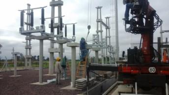 Se encuentra en etapa final la ejecución de la estación transformadora de Quitilipi