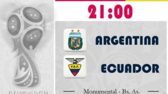 Argentina inicia su camino al mundial de Rusia 2018 sin la presencia de Messi
