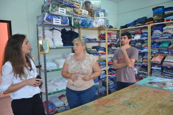 Soneira constató el funcionamiento de dos casas de contención para niños y niñas