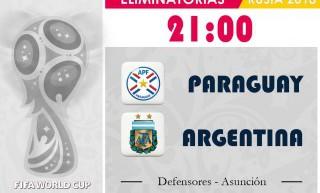 Una Argentina diezmada va a Paraguay para recuperar los puntos
