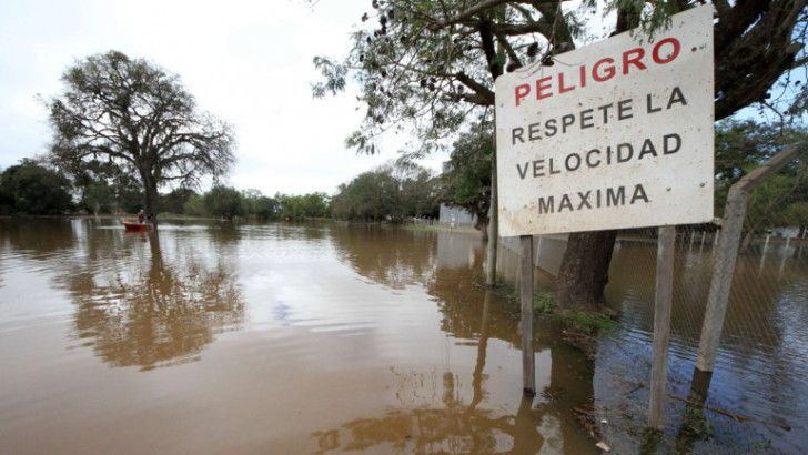 Paraná: se acerca el pico de creciente