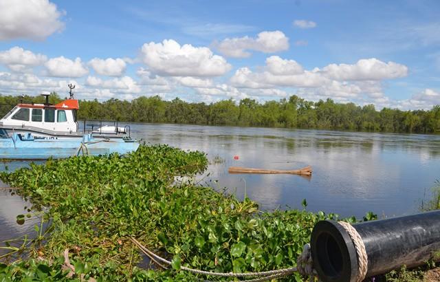 El río Paraná alcanzó los 7,53 metros en Barranqueras y se mantiene creciente.