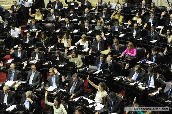 Diputados votó con amplio consenso el proyecto para cancelar deuda con los buitres