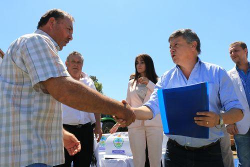 Peppo entregó nueva maquinaria fabricada en Chaco a Consorcios Camineros