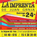La Imprenta de Juan Grnja