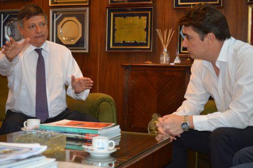 Peppo avanzó con Vialidad Nacional en obras estratégicas para la conectividad vial