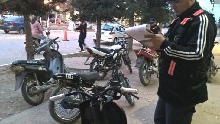 Caminera: amplios controles en San Bernardo con 8 motos secuestradas