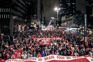 Brasil sigue en crisis: miles de manifestantes volvieron a marchar contra Temer y piden elecciones