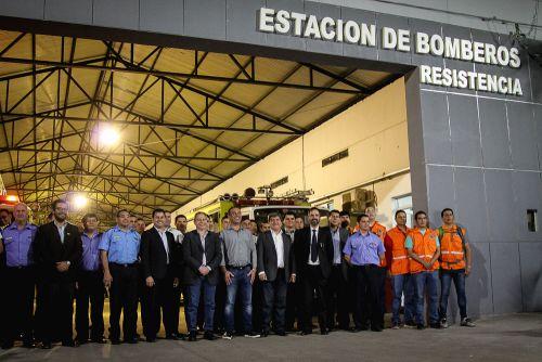 El vicegobernador lanzó el primer curso de combate contra incendios para penitenciarios
