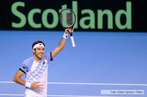 En Gran Bretaña, y con sapucai incluido, Argentina logró el pase a la final de la Davis