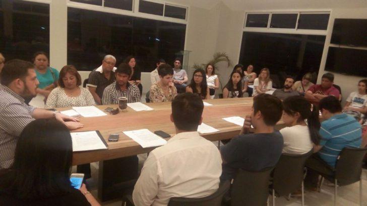 Se realizó la reunión del Consejo de las Juventudes en el Domo del Centenario