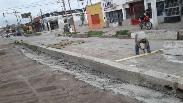 Mejoramiento de calles: el municipio realizó trabajos en avenida Alvear