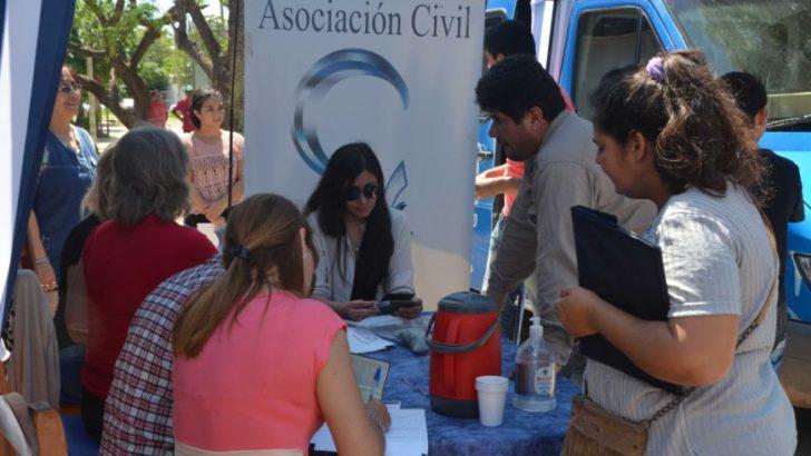 Se realizó un operativo para gestionar el DNI en el Centro Mujer Bettina Vásquez