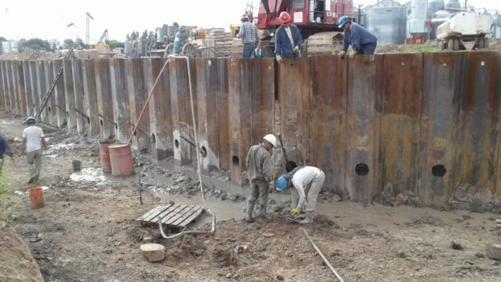 Avanza la obra del muelle del Puerto Las Palmas
