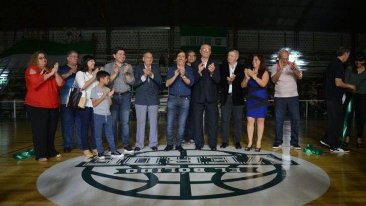 Hindú inauguró su estadio de Básquet