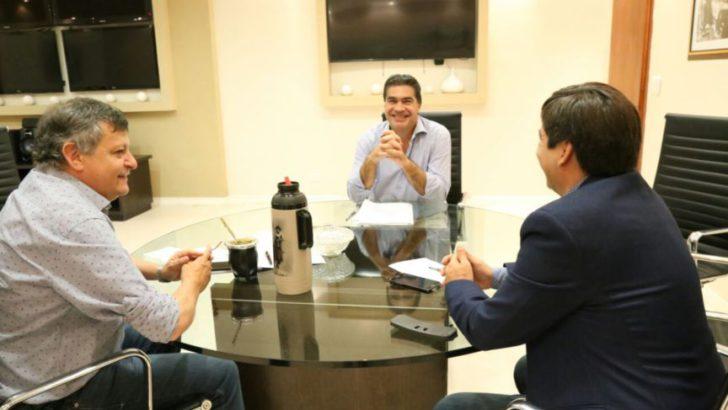 Capitanich se reunió con Peppo y Gustavo Martínez y afirmó: vamos a trabajar unidos por una propuesta electoral