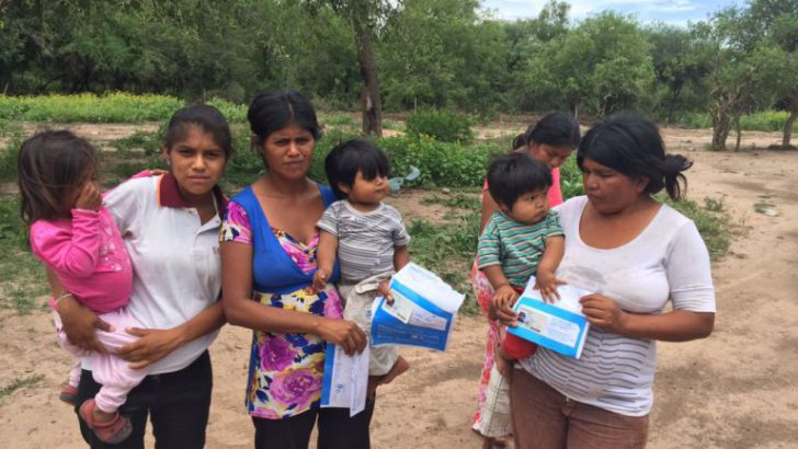 Comenzó la entrega de DNI a más de 670 aborígenes