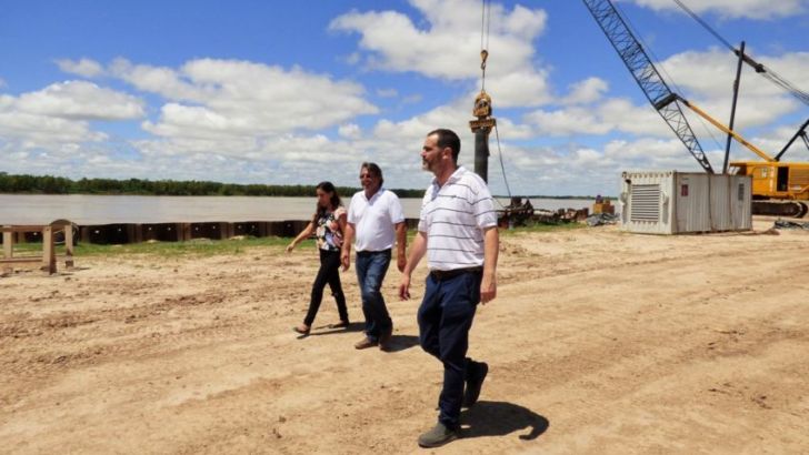 """Puerto Las Palmas: """"estamos tratando de volver a un entendimiento con Nación para obras como esta"""""""