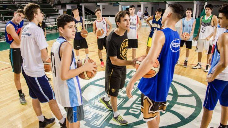 Hindú y Obras: se realizó el primer campus de perfeccionamiento de básquet