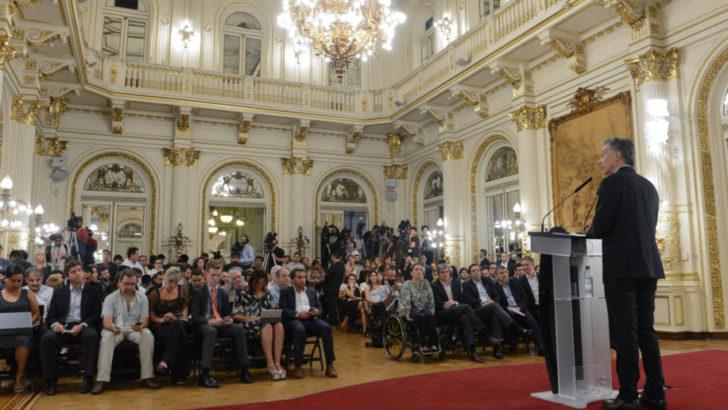 Macri pone reversa respecto a la baja en el aumento jubilatorio