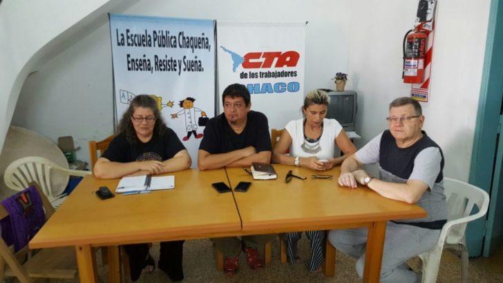 Docentes: Utre Ctera convoca a parar miércoles y jueves