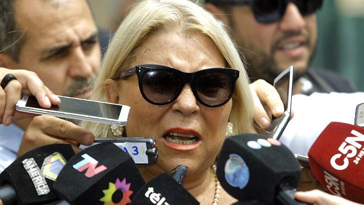 """Tras sus desplantes, Carrió reculó y afirmó: """"no voy a romper Cambiemos"""""""