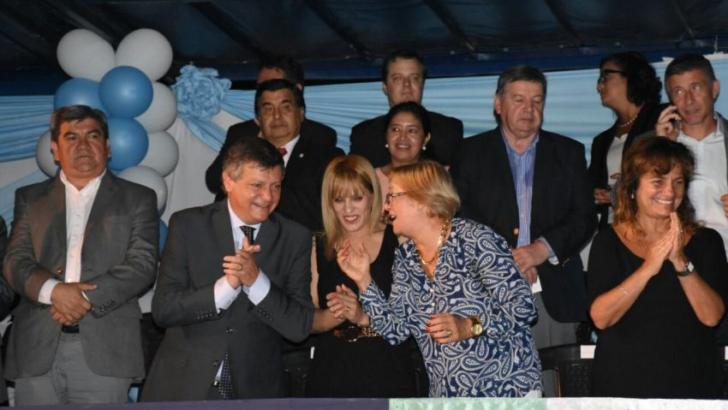 Peppo se sumó a la celebración por el aniversario de Barranqueras