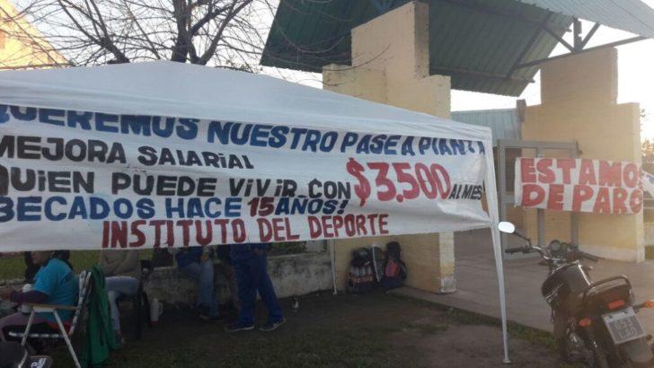 """Instituto del Deporte: """"El 80% de los trabajadores somos precarizados"""""""